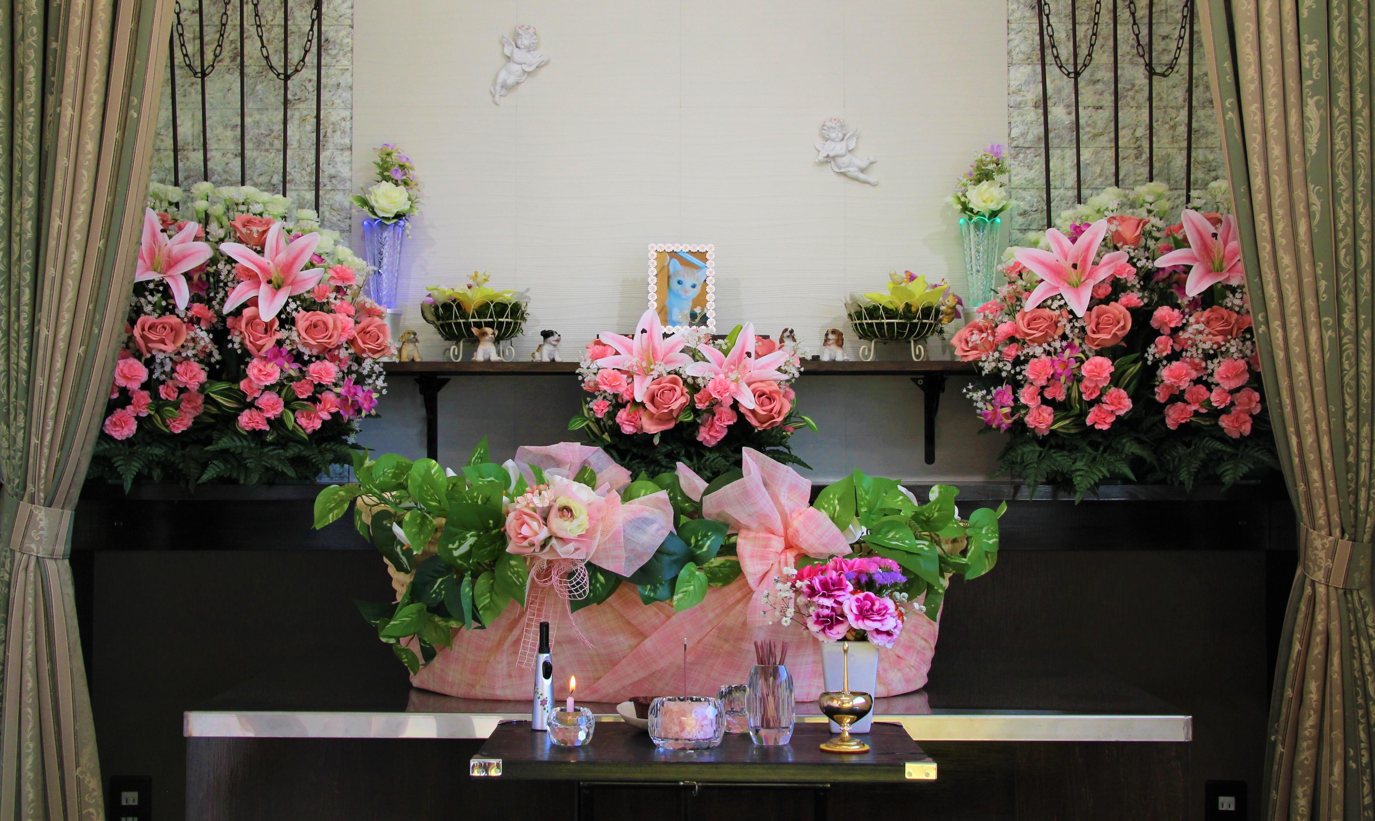 久喜市のペット葬儀・ペット火葬のご相談はペットファミリー花畑まで